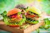 Gesunde Burger mit Gemüsepatties