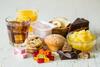 Zuckerhaltige Lebensmittel