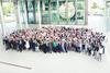 BIG Mitarbeiter*innen vor dem Hauptsitz in Dortmund