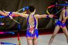 Bewegung: Mädchen bei rhythmischer Sportgymnastik