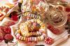 Glas mit Süßigkeiten
