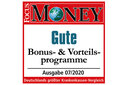 Focus Money Siegel 2020 Gute Bonus- & Vorteilsprogramme